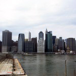 View on the south of Manhattan