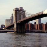 Brooklyn Bridge (Richtung Manhattan)
