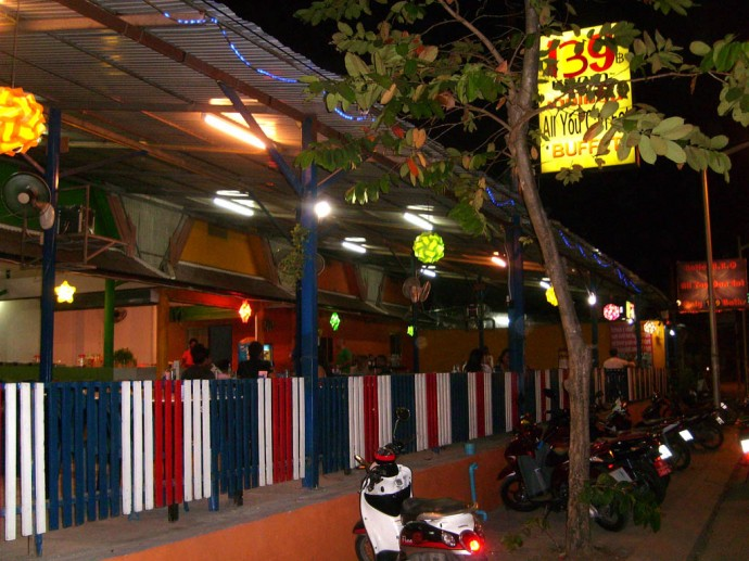 The restaurant from outside