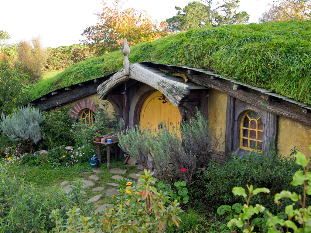 Foto der Woche: Hobbit-Haus | Reiseblog für Südostasien: Home is where your Bag is