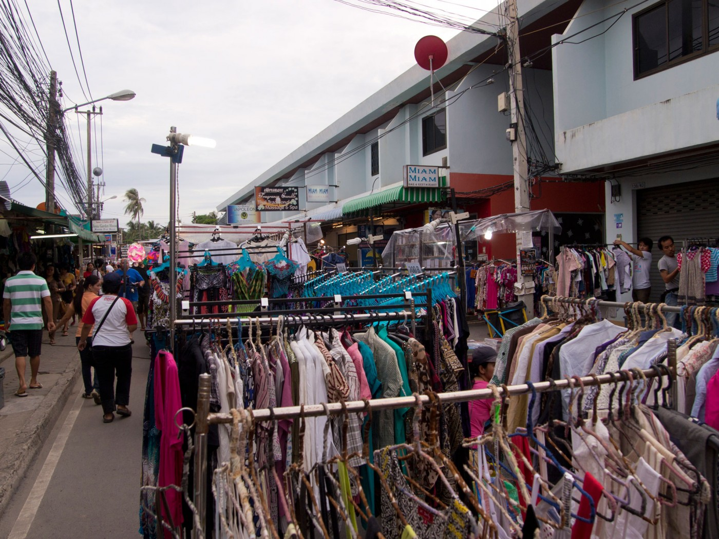 Walking Street in Lamai, Koh Samui