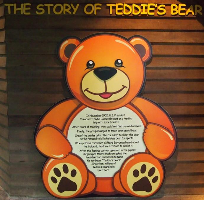 Die Geschichte des Teddybären