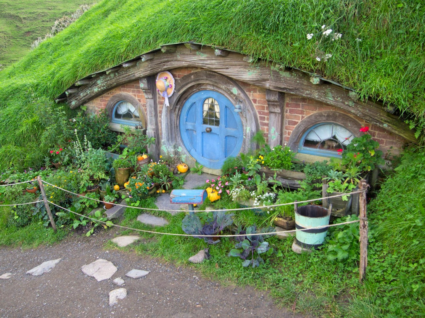 Hobbiton Movie Set Tours, Matamata, Herr der Ringe, der Hobbit, Neuseeland