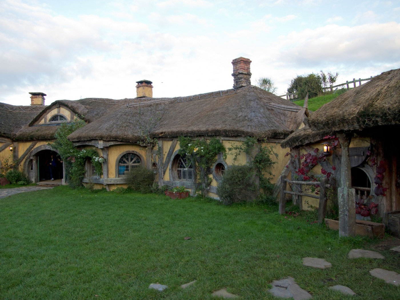 Green Dragon, Hobbiton Movie Set Tours, Matamata, Herr der Ringe, der Hobbit, Neuseeland