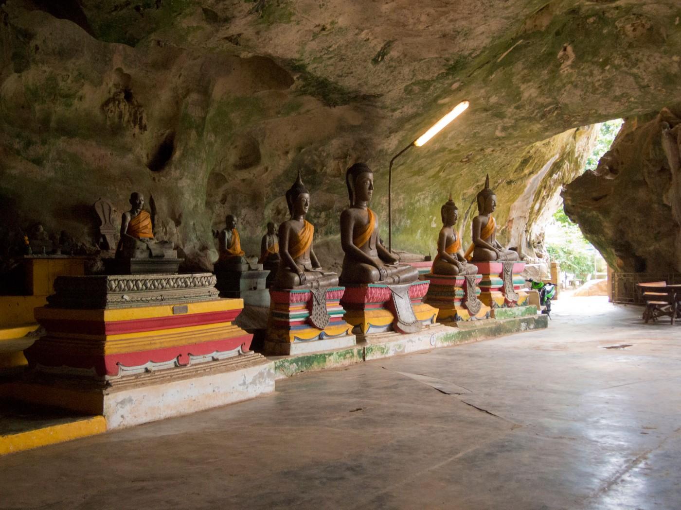 Suwankuha Temple, Monkey Cave, Phuket, Thailand