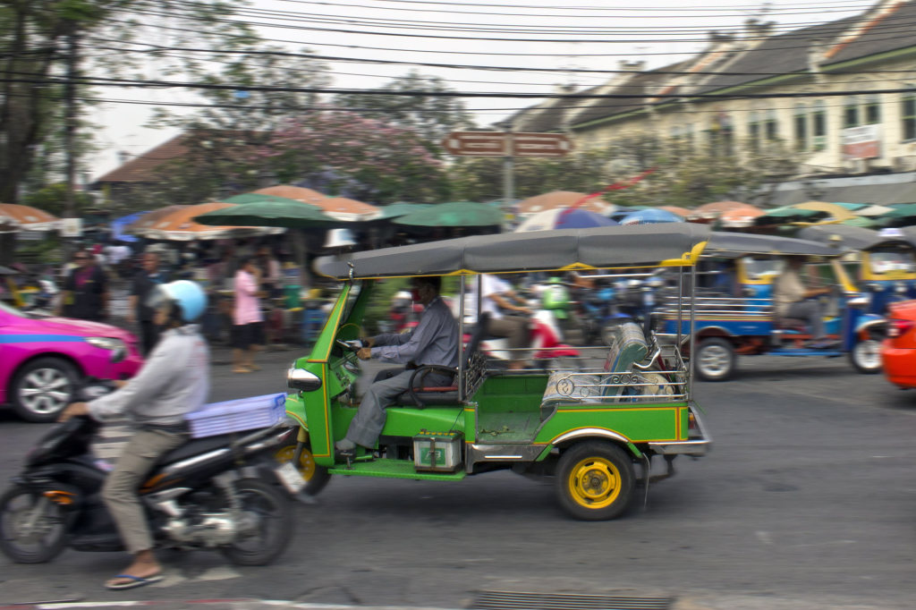 Tuk Tuk in the streets of Bangkok