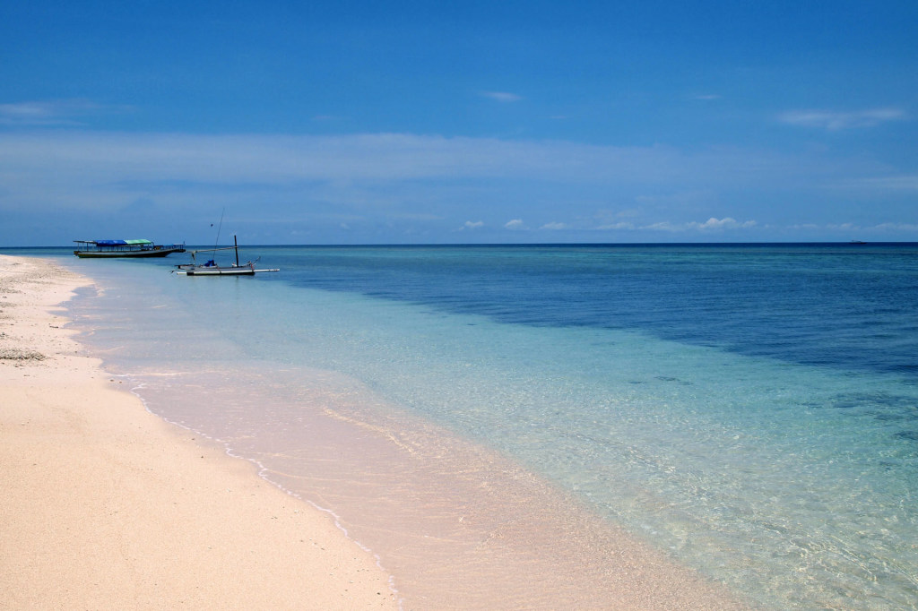 Beach on Gili Meno, Indonesia