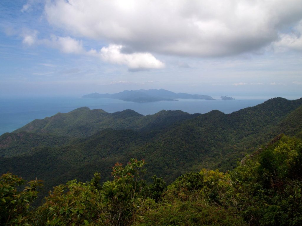 View from the top of the Cable Car, Langkawi