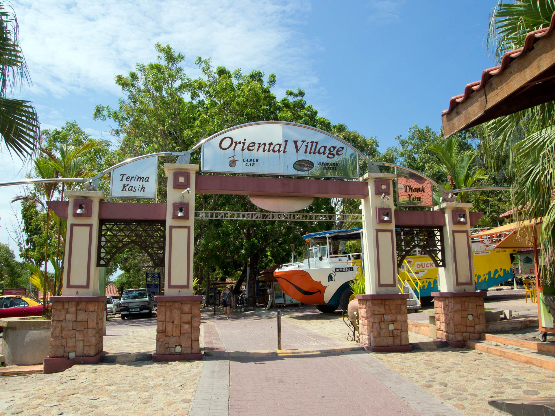 Langkawi Oriental Village Cable Car And Sky Bridge Travel Blog About Southeast Asia Home