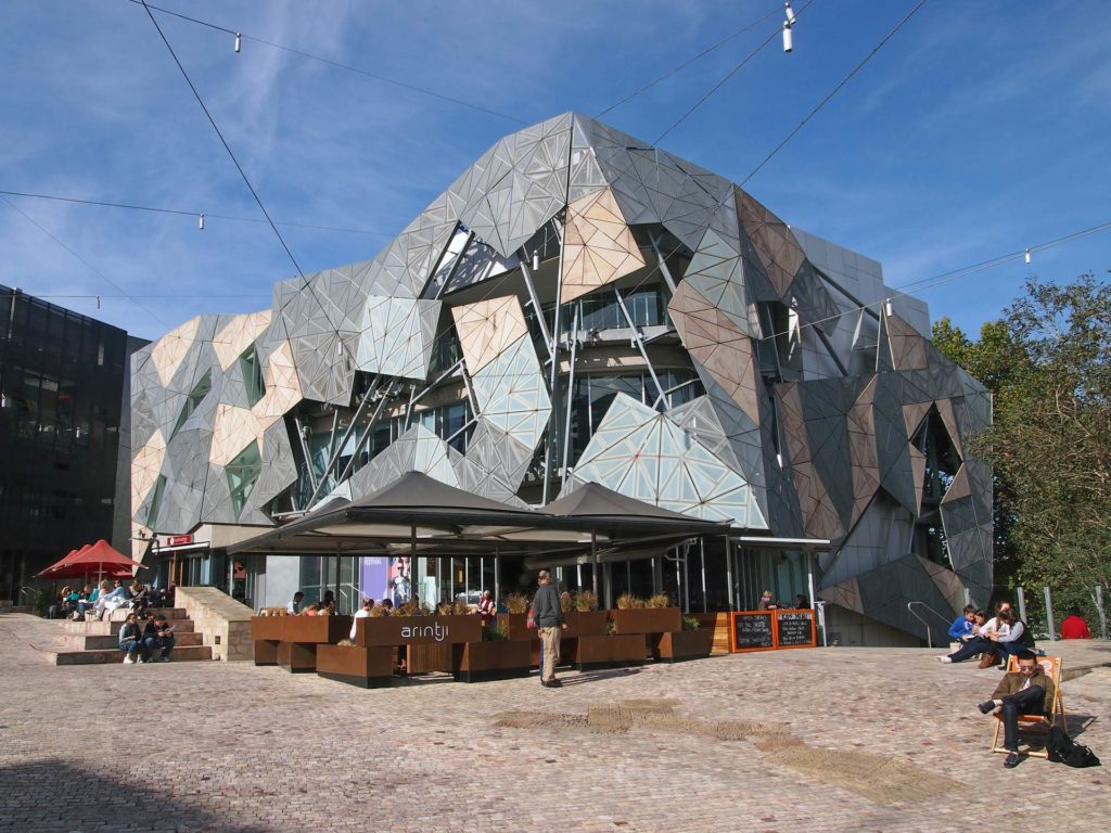 Gebäude am Federation Square, Melbourne