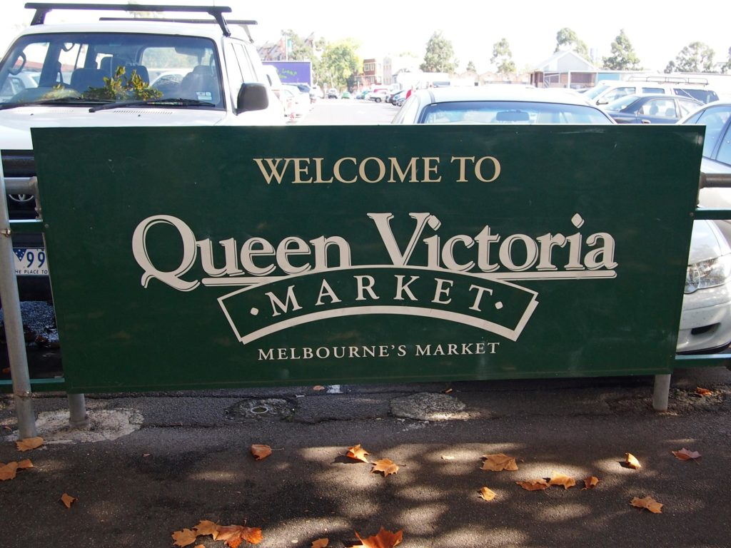 Queen Victoria Market in Melbourne