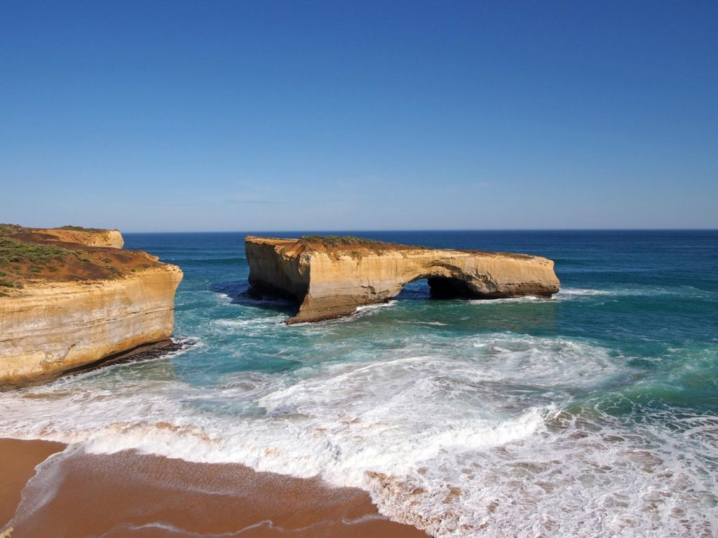 Die London Arch an der Great Ocean Road