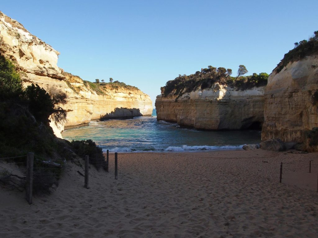 Strand am Loch Ard Gorge an der Great Ocean Road