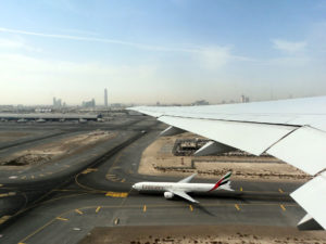 Wir heben ab - Dubai International Airport