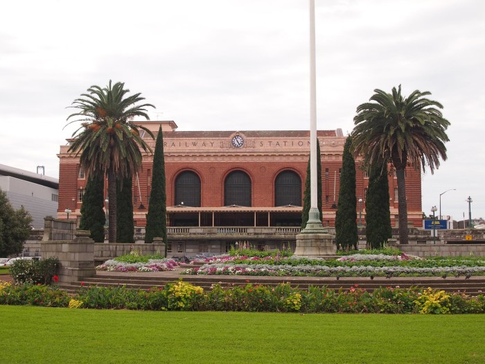 The Auckland Railway Station, New Zealand