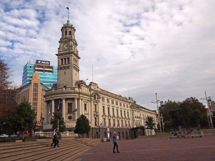 The Town Hall of Auckland