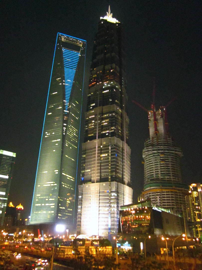 Shanghai World Financial Center und Jin Mao Tower, China