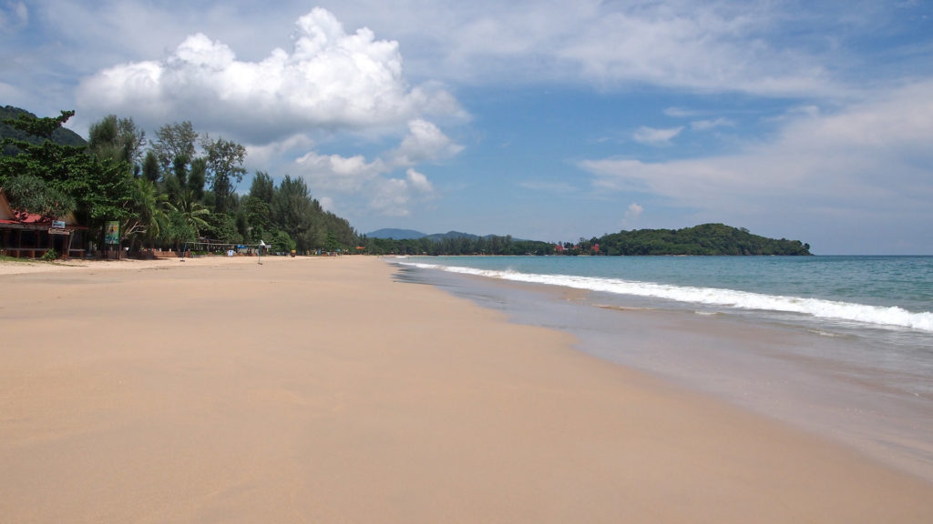 The Klong Dao Beach on Koh Lanta, Thailand