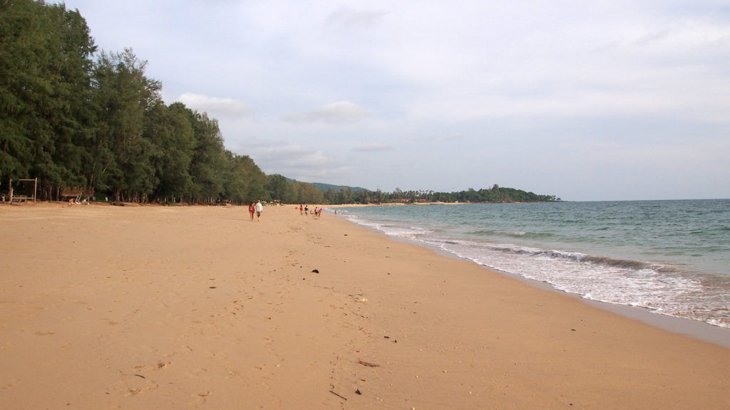 Phra Ae Beach or also known as Long Beach of Koh Lanta