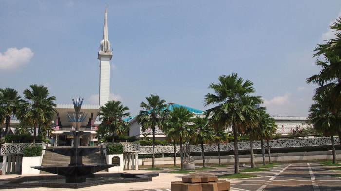 Masjid Negara - the national mosque of Malaysia
