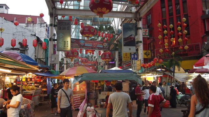 Die Petaling Street - Kuala Lumpurs Chinatown