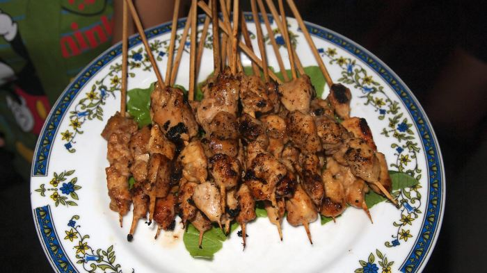 Sate Ayam (Chicken Sate)