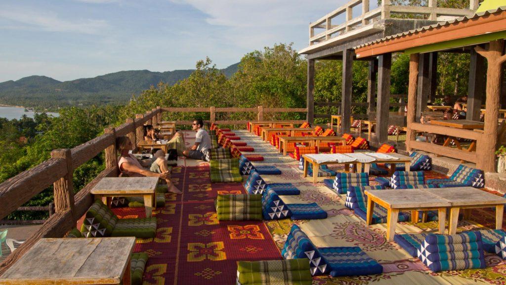 Die Amstardam Bar auf Koh Phangan