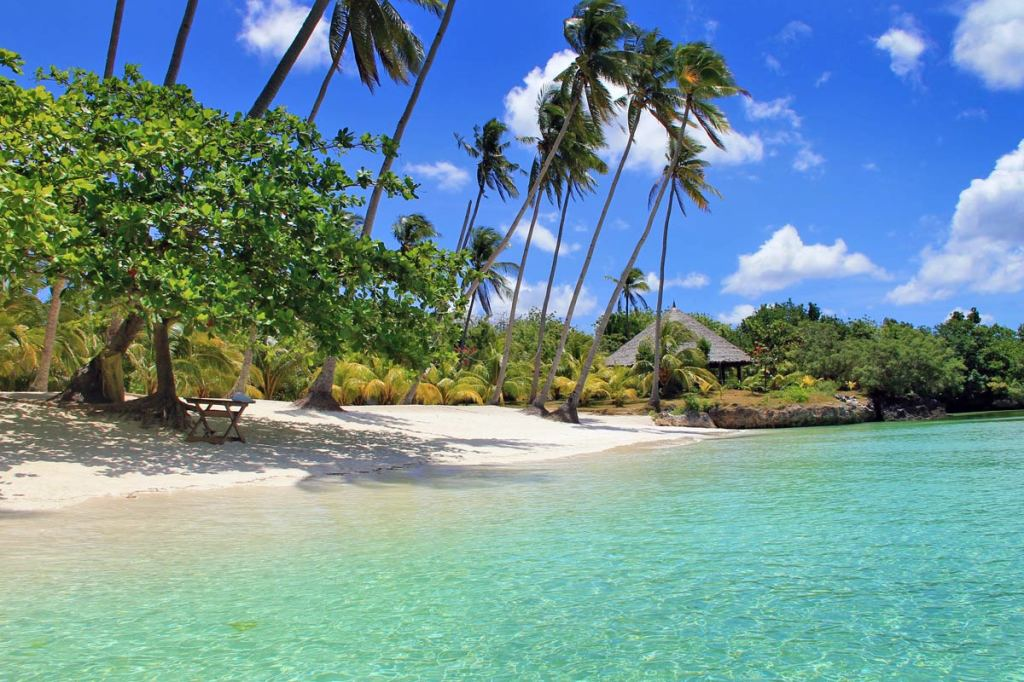 The dream beach Paliton Beach in the Philippines