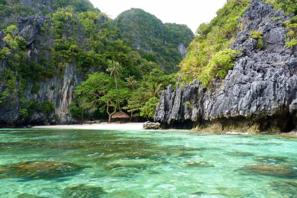 Dream beach in the Philippines
