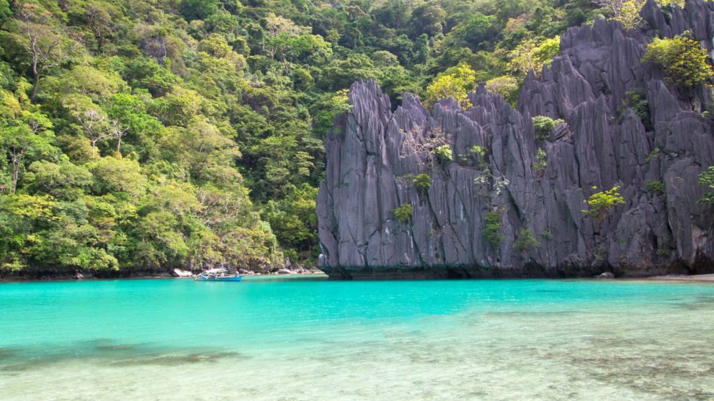 The wonderful Cadlao Lagoon, El Nido