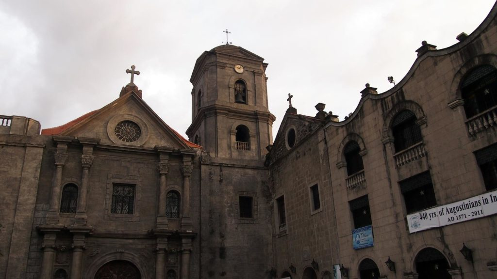 San Agustín Church in Intramuros, Manila