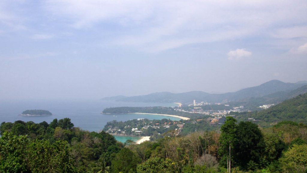 Karon Viewpoint with a view at Kata Noi, Kata and Karon