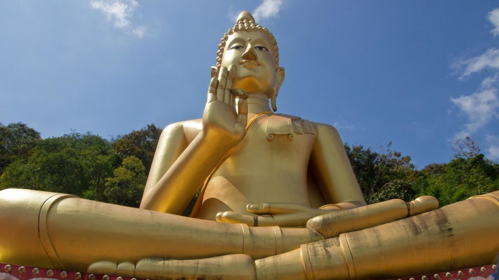 Der Big Buddha in Wat Khao Rang