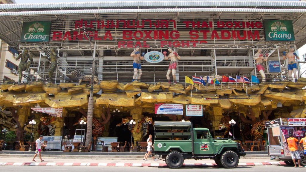 Das Muay Thai Bangla Boxing Stadium in Patong