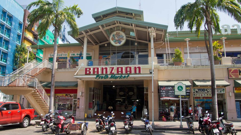 The Banzaan Fresh Market in Patong