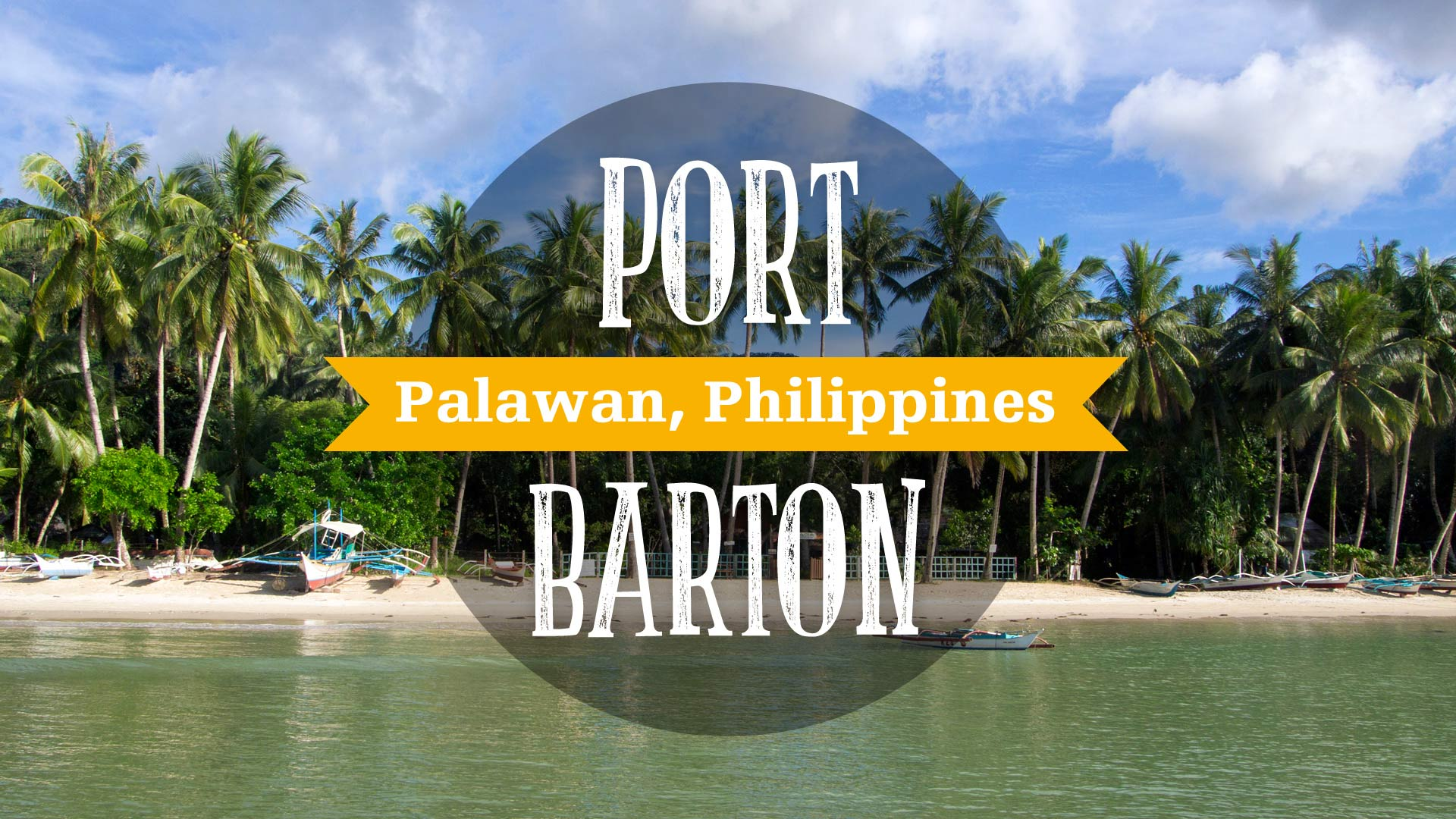 Port Barton Video