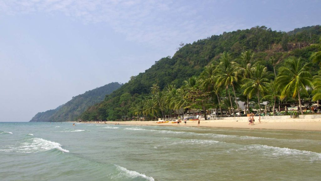 The White Sand Beach on Koh Chang