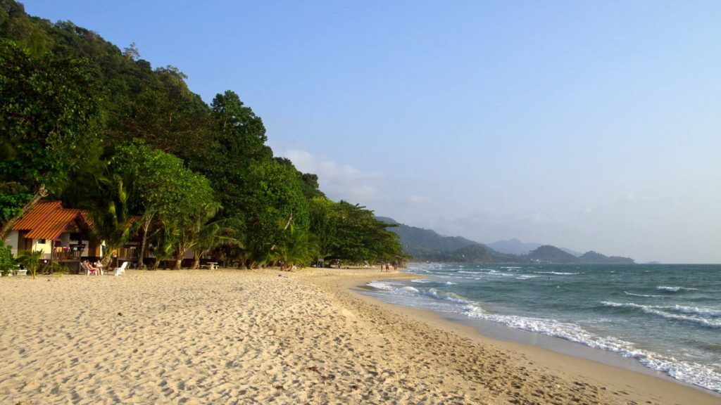 The northern part of White Sand Beach, Koh Chang