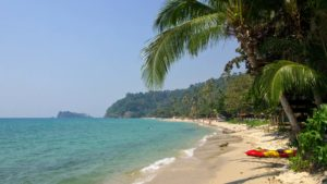 Lonely Beach, der Backpackerstrand von Koh Chang