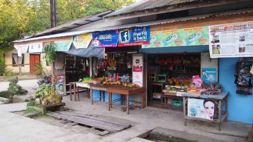 Small shop in Port Barton on Palawan
