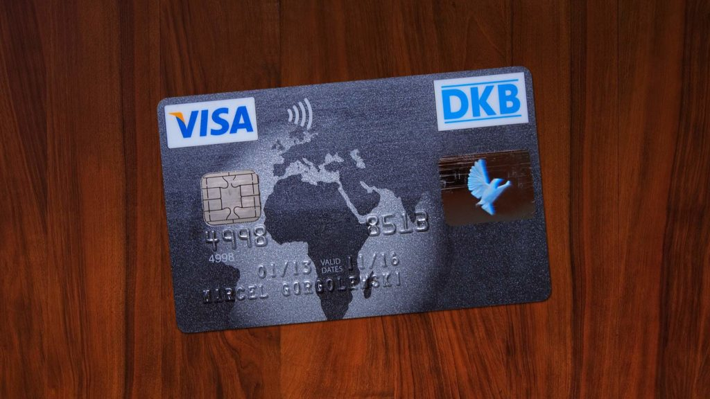 The DKB Visa card