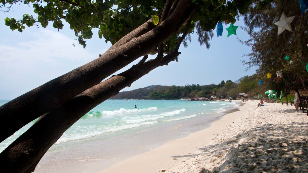 The Ao Hin Khok Beach on Koh Samet