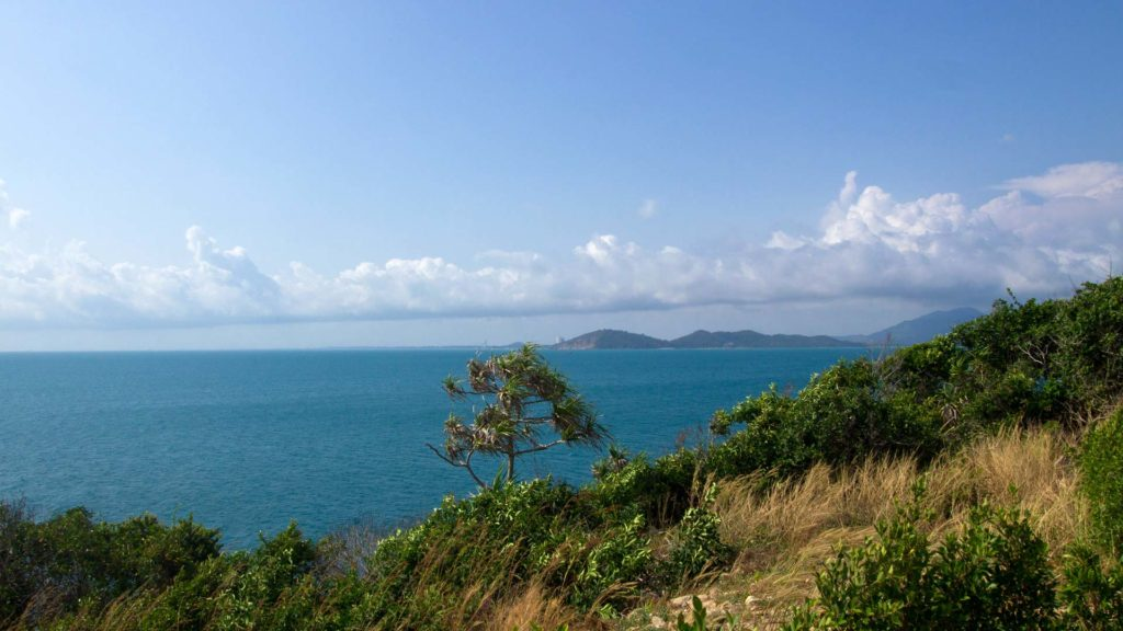 The viewpoint of Koh Samet