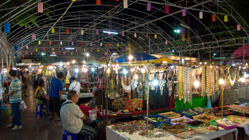 Stalls at the Anusarn Markt in Chiang Mai