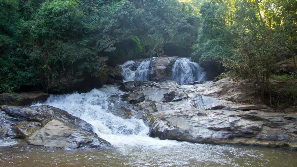 Mae Sa waterfall in the vicinity of Chiang Mai