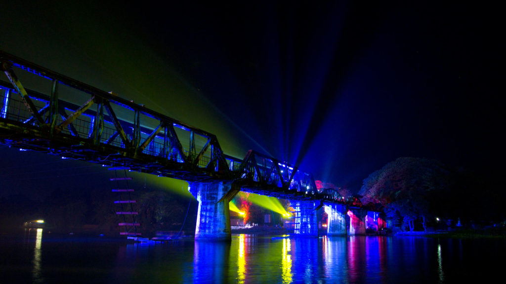 River Kwai Bridge Festival in Kanchanaburi
