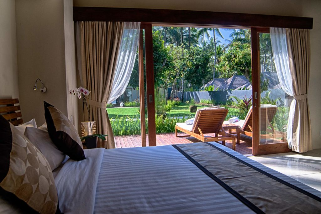 Room of a Garden View Villa at The Chandi