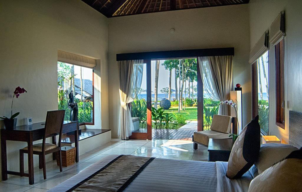 Room of an Ocean View Villa at The Chandi