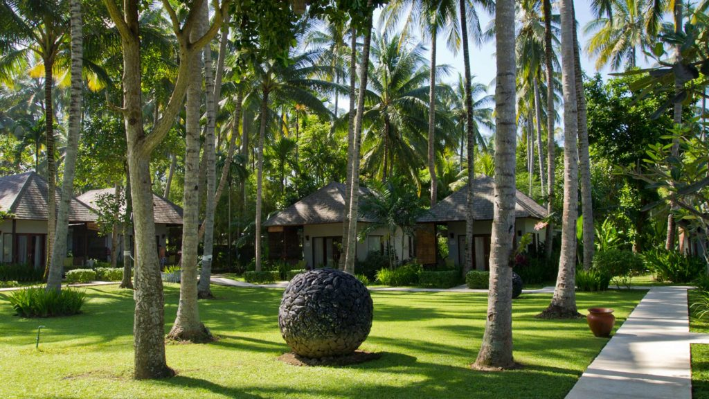 Garden and Ocean View Villas at The Chandi, Lombok