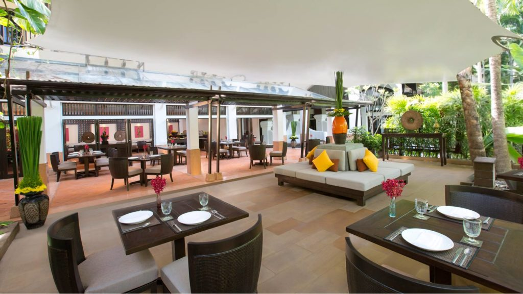 The High Tide Restaurant of the Anantara Bophut Resort & Spa, Koh Samui
